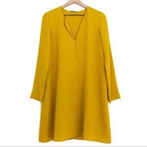 Mango | Suit Collection Mustard Shift Dress